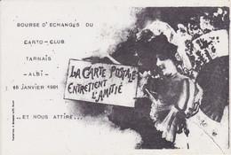 ALBI - Bourse D'échanges  Du Carto Club Tarnais (18 Janvier 1981) - Beursen Voor Verzamellars