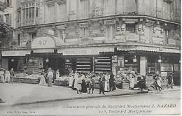 PARIS -  ALIMENTATION GENERALE HAZARD -  115 BOULEVARD MONTPARNASSE - District 15