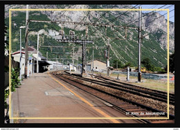 73  ST JEAN  De  MAURIENNE  -  La  Gare - Saint Jean De Maurienne