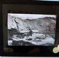 SAVOIE (?)- Lieu à Identifier - Plaque De Verre 8,5 X 10 - TBE - Glass Slides