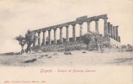 9364) GIRGENTI - Tempio Di GIUNONE LACINIA - Very Old ! - Altre Città