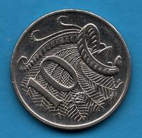 AUSTRALIA 10 CENTS 2008 KM# 401 Echidna  QEII - 10 Cents