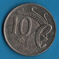 AUSTRALIA 10 CENTS 2005 KM# 401 Echidna  QEII - 10 Cents