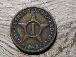 Cuba 1 Centavo  1943 - Cuba