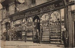 CPA Au Chronometre PARIS 10e 154 Rue Du Fb S-Martin BOUTIQUE (16935) - Arrondissement: 10