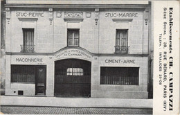 CPA Etabl. CH. CAMPAZZI PARIS 14e 39, Rue Bénard (16992) - Arrondissement: 14