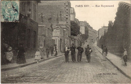 CPA PARIS 16e Rue Raynouard (17020) - Arrondissement: 16