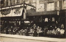 CPA Carte Photo PARIS 17e 79, Rue De Sevres 1904 A St-Jean BOUTIQUE (17034) - Arrondissement: 17