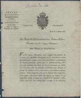 FRDoc 1806 : Document Du Préfet De Gap  Aux Maires Pour La Conscription 1806 - Decrees & Laws