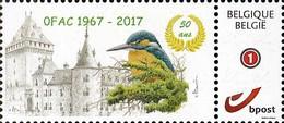 MyStamp IJsvogel 50 Jaar O.F.A.C. 1967 - 2017 - 1985-.. Vögel (Buzin)