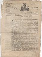 FRDoc  Document Du Préfet De Gap  Aux Maires Pour Réprimer Le Maraudage - Decrees & Laws