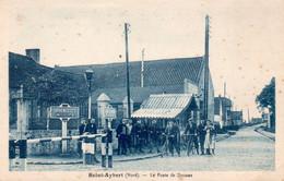 Saint-Aybert, Thivencelles, Canal De Mons. Le Poste De Douane. - Conde Sur Escaut