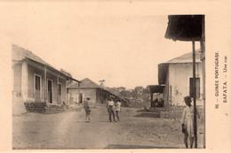 GUINÉ BISSAU - BAFATA - Une  Rue - Guinea-Bissau