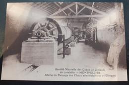 34/ Carte Postale De La Sociéte Nouvelle Des Chaux Et Ciments De Lavalette - Montpellier - Atelier De Broyage Des Chaux - Montpellier