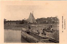 GUINÉ BISSAU - BAFATA - Port - Guinea-Bissau