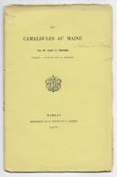 D72. BESSE-SUR-BRAYE.  LES CAMALDULES AU MAINE. ABBE L. FROGER. PROFESSEUR A SAINT-CALAIS. 1877. - Pays De Loire