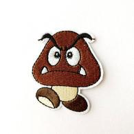 1 Écusson Brodé Thermocollant NEUF ( Patch ) - Goomba Mario - Scudetti In Tela