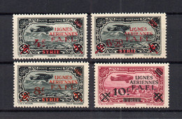 !!! LEVANT, SERIE PA N°1/4 NEUVE ** - Unused Stamps