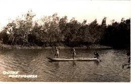 GUINÉ BISSAU - Felupe Pescando à Massassa (flecha) - Guinea-Bissau