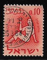 Israel - Signos Del Zodiaco - Año1961 - Catalogo Yvert N.º 0191 - Usado - - Gebraucht (ohne Tabs)