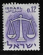 Israel - Signos Del Zodiaco - Año1961 - Catalogo Yvert N.º 0192 - Usado - - Gebraucht (ohne Tabs)