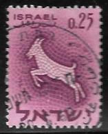 Israel - Signos Del Zodiaco - Año1961 - Catalogo Yvert N.º 0195 - Usado - - Gebraucht (ohne Tabs)