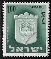 Israel - Escudos De Ciudades - Año1965 - Catalogo Yvert N.º 0285 - Usado - - Gebraucht (ohne Tabs)