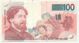 Belgique Belgie : 100 Francs - Ensor - 100 Francs