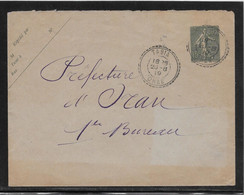 Algérie - Tabia - Entier Postal - Covers & Documents