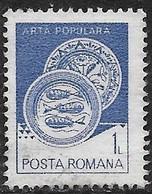 Rumania - Artesanía Regional - Año1982 - Catalogo Yvert N.º 3419 - Usado - - Usati
