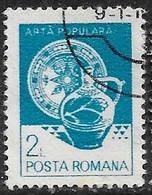 Rumania - Artesanía Regional - Año1982 - Catalogo Yvert N.º 3421 - Usado - - Usati