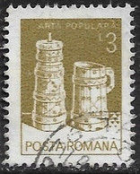 Rumania - Artesanía Regional - Año1982 - Catalogo Yvert N.º 3422 - Usado - - Usati