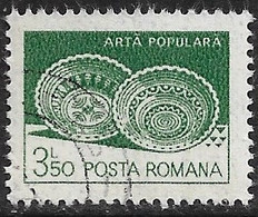 Rumania - Artesanía Regional - Año1982 - Catalogo Yvert N.º 3423 - Usado - - Usati