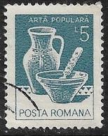 Rumania - Artesanía Regional - Año1982 - Catalogo Yvert N.º 3425 - Usado - - Usati