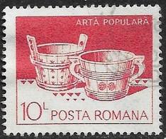 Rumania - Artesanía Regional - Año1982 - Catalogo Yvert N.º 3430 - Usado - - Usati