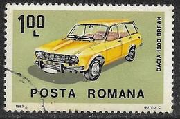 Rumania - Automóviles Rumanos - Año1983 - Catalogo Yvert N.º 3444 - Usado - - Usati