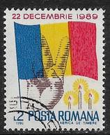 Rumania - Régimen Político - Año1990 - Catalogo Yvert N.º 3868 - Usado - - Usati