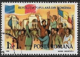Rumania - Levantamiento Popular - Año1990 - Catalogo Yvert N.º 3897 - Usado - - Usati