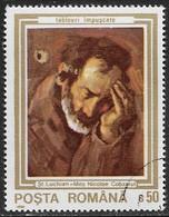 Rumania - Pinturas - Año1990 - Catalogo Yvert N.º 3909 - Usado - - Usati