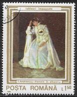 Rumania - Pinturas - Año1990 - Catalogo Yvert N.º 3910 - Usado - - Usati