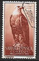 Sahara Español - Pro Infancia - Año1957 - Catalogo Yvert N.º 0126 - Usado - - Sahara Espagnol