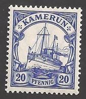 Deutsche Kolonien Kamerun Michel Nummer 23 Ungebraucht Falz - Colony: Cameroun
