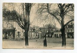 28 NOGENT Le ROI Pompe à Eau Place De L'Etoile Commerces  1919 écrite  D08 2020 - Nogent Le Roi