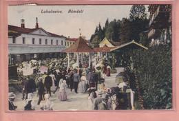 OLD POSTCARD Czech Republic - LUHACOVICE - NAMESTI - República Checa