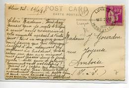 37 LUYNES  Interessante CARTE PHOTO écrite  De CLAIR VAL   ( La Villa ? )  En 1936    D09 2020 - Luynes