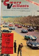 COEURS VAILLANTS N° 26 26 JUIN 1960 LES 24 HEURES DU MANS LE TOUR DE FRANCE CARTE GEANTE DARRGIADE SOUVENIRS - Altri