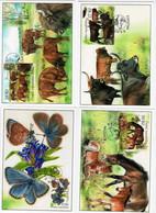 Czech Republic - 2021 - Nature Protection - Milovice National Park - Set Of 4 Maximum Cards - Storia Postale