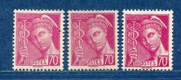 ⭐ France - Variété - YT N° 416 - Couleurs - Pétouilles - Neuf Sans Charnière - 1938 ⭐ - Varieteiten: 1931-40 Postfris