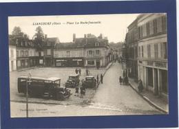 60 LIANCOURT / Place La Rochefoucauld / Autobus / Animée. - Liancourt
