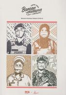 Malaysia 2021 Covid19 Pandemic Coronavirus Frontliners New!  Folder By Pos Malaysia. Limited - Malaysia (1964-...)